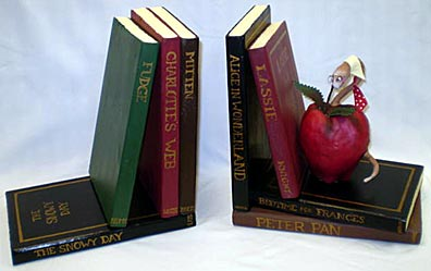 silent auction bookends